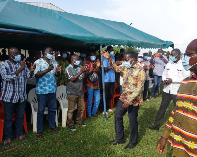 Le député Aka Aouélé exprime ses remerciements aux populations d'Affiénou