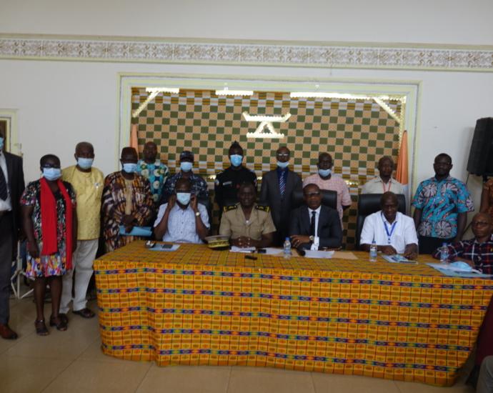 Un comité régional de protection de l'enfant du Sud-comoé mis en place à Ab