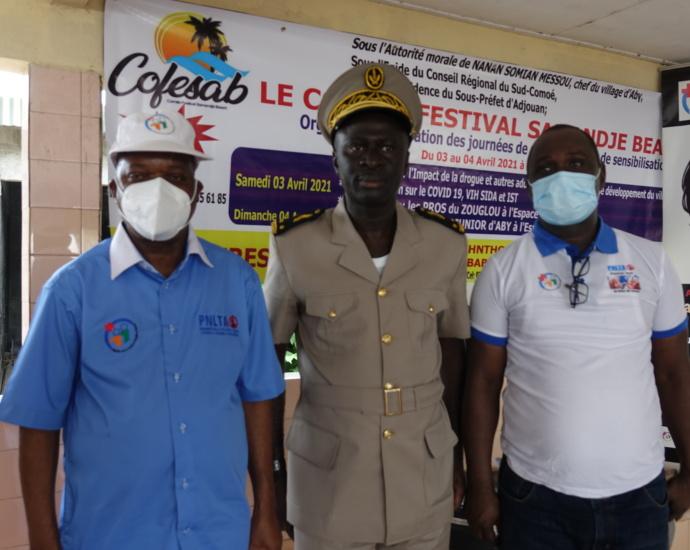 Fête de la Pacques : Le Samandjè Beach d'Aby transformé en plate forme de lutte contre la drogue et l'alcoolisme