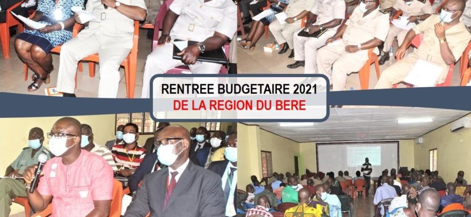 Rentrée budgétaire du Béré
