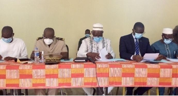 Conseil général Bagoué à Tengrela
