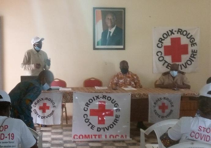 Croix rouge Agnibilékrou