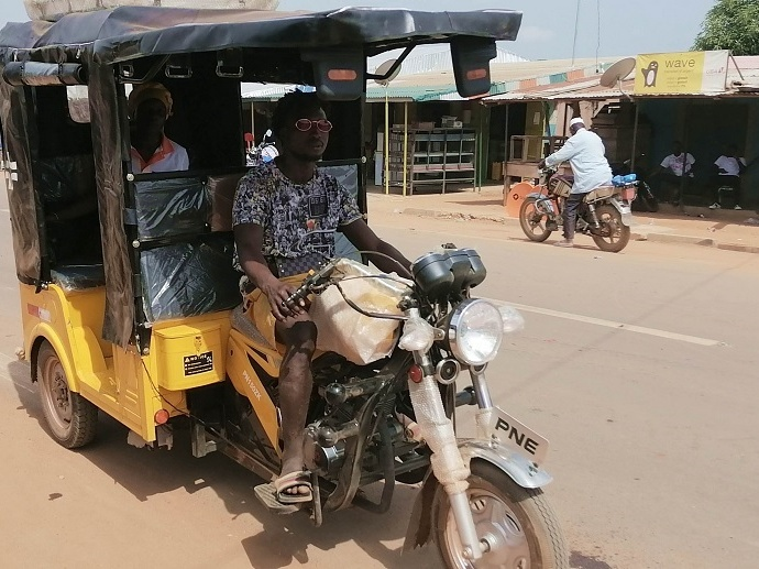Taxi moto Madinani